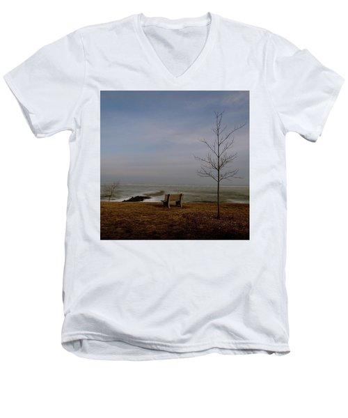 The Lonely Bench Men's V-Neck T-Shirt