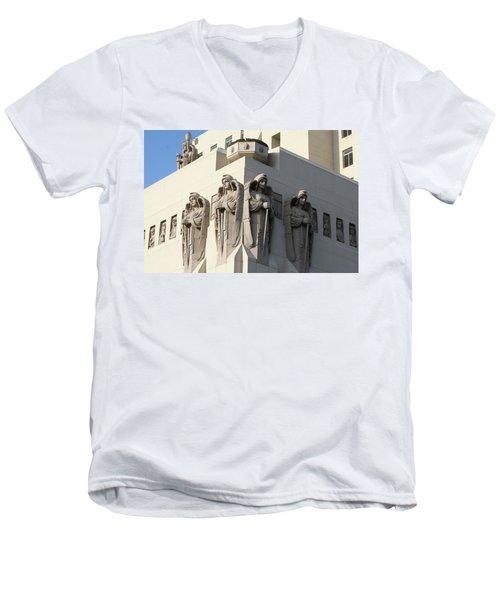 The Macarthur Guardians Men's V-Neck T-Shirt
