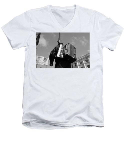 The Maestro Men's V-Neck T-Shirt