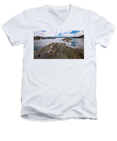 The Magic Of Lindoya Men's V-Neck T-Shirt