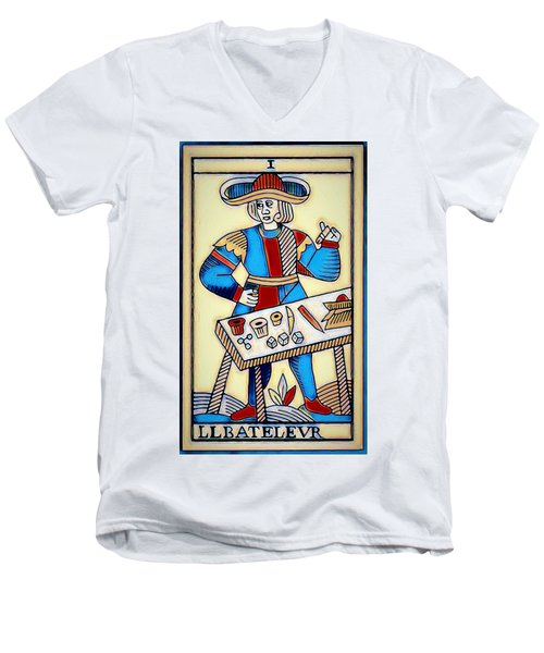 The Magician Men's V-Neck T-Shirt