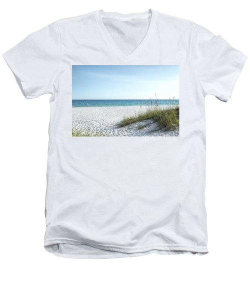 The Magnificent Destin, Florida Gulf Coast  Men's V-Neck T-Shirt