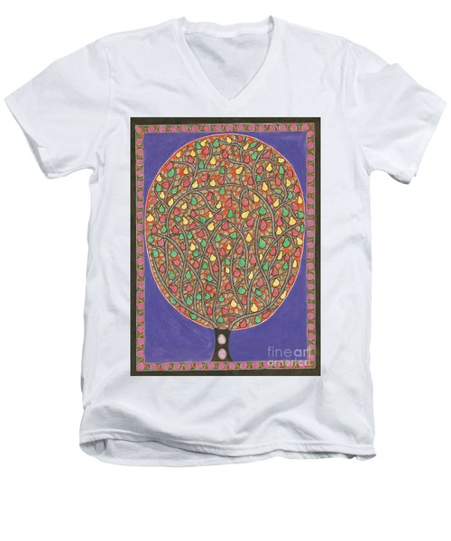 The Mango Tree Men's V-Neck T-Shirt