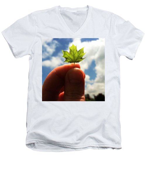 The Mighty Maple Men's V-Neck T-Shirt