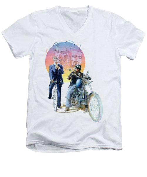 The Missionary And The Angel Men's V-Neck T-Shirt