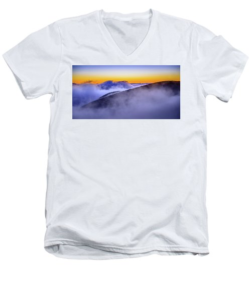 The Mists Of Cloudfall Men's V-Neck T-Shirt