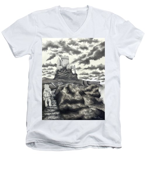 The Moher Giant Men's V-Neck T-Shirt