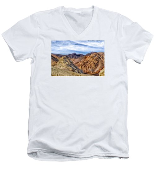 Men's V-Neck T-Shirt featuring the photograph The Monte Cristos  by Janis Knight