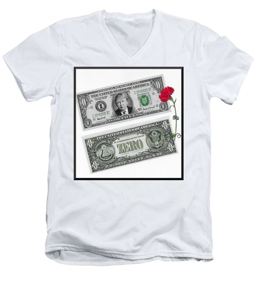 The New Trump Currency Men's V-Neck T-Shirt