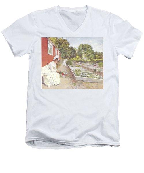 The Nursery Men's V-Neck T-Shirt