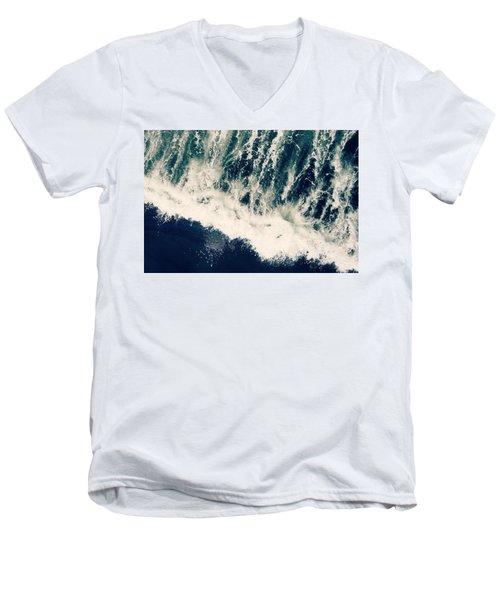 The Ocean Roars Men's V-Neck T-Shirt