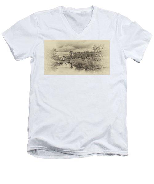 The Old Pond Men's V-Neck T-Shirt