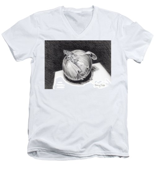 The Onion Men's V-Neck T-Shirt