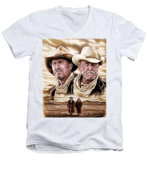 The Open Range Colour Edit By Andrew Read Men's V-Neck T-Shirt