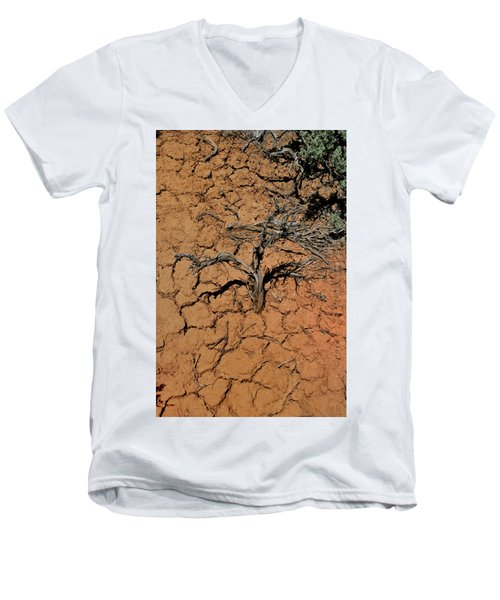 The Parched Earth Men's V-Neck T-Shirt