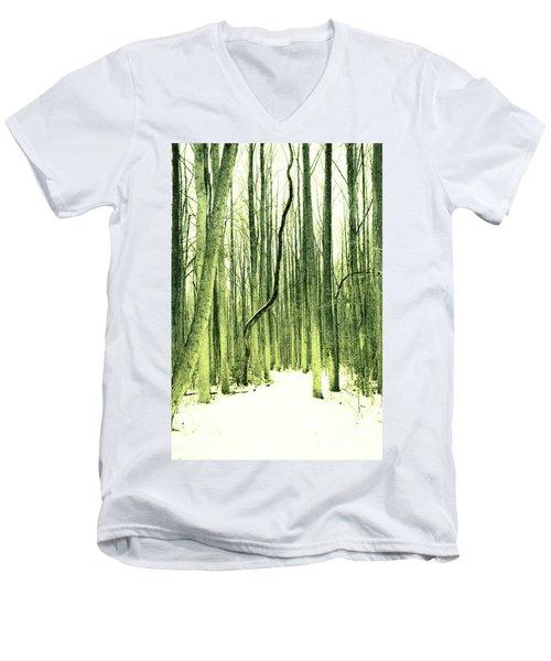The Path Less Taken Men's V-Neck T-Shirt