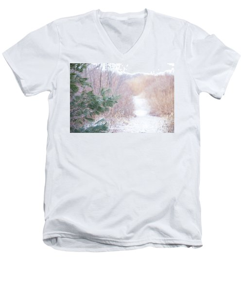 The Path Untraveled  Men's V-Neck T-Shirt