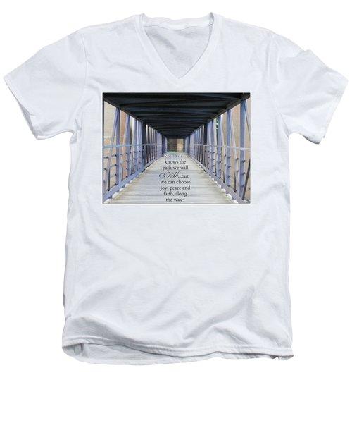 The Path We Walk Men's V-Neck T-Shirt