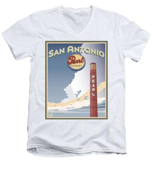 The Pearl Smokestack Men's V-Neck T-Shirt