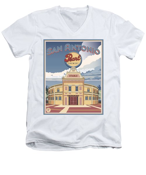 The Pearl Stable Men's V-Neck T-Shirt
