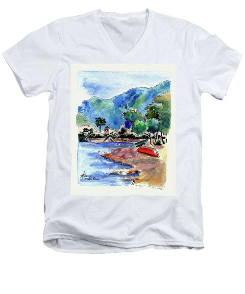 The Peloponnese Men's V-Neck T-Shirt