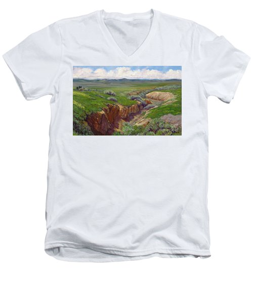 The Power Of Water Men's V-Neck T-Shirt
