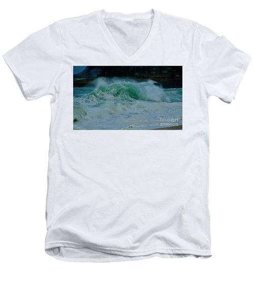 The Power Of Waves Men's V-Neck T-Shirt