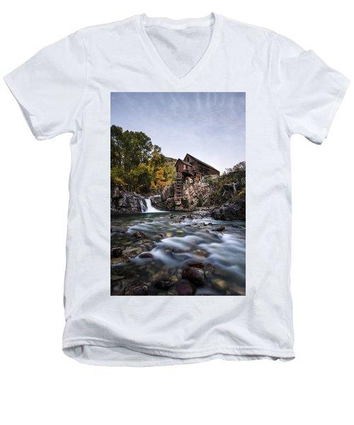 The Powerhouse Men's V-Neck T-Shirt
