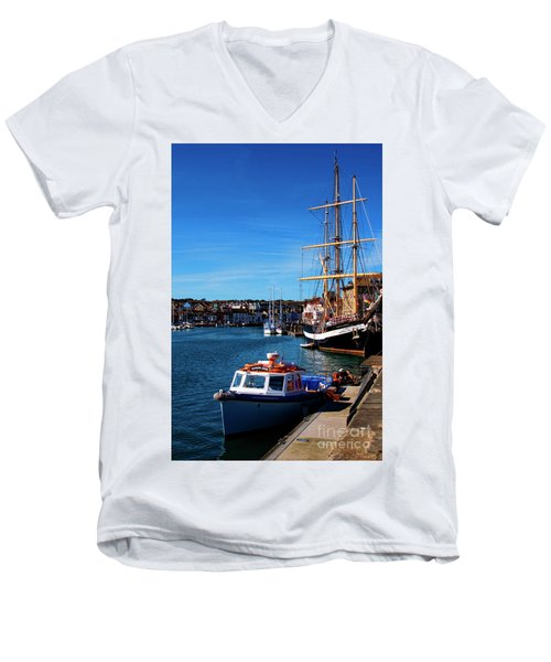 The Quayside  Men's V-Neck T-Shirt