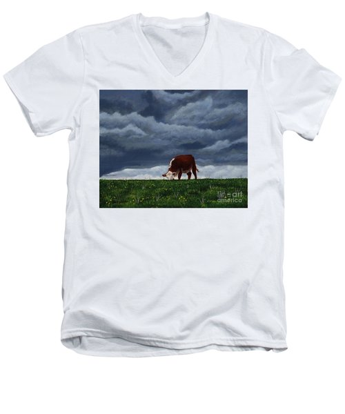 The Quiet Before The Storm Men's V-Neck T-Shirt