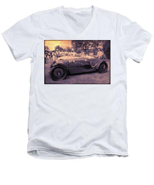 The Racer Men's V-Neck T-Shirt