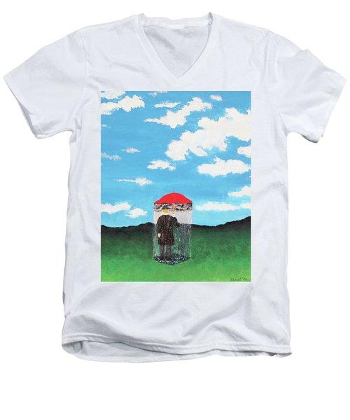 The Rainmaker Men's V-Neck T-Shirt