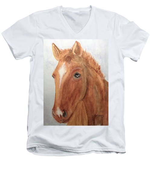 The Red Pony Men's V-Neck T-Shirt