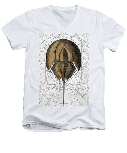 The Remnant Men's V-Neck T-Shirt by Charles Harden