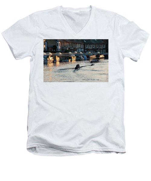 The Riverside Men's V-Neck T-Shirt