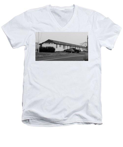 The Rolling Stones' Memory Motel Montauk New York Men's V-Neck T-Shirt