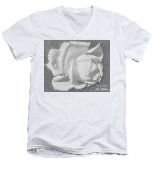 The Rose Men's V-Neck T-Shirt