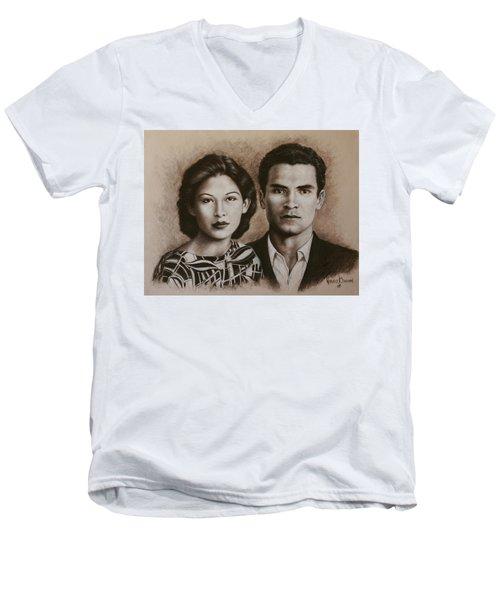 The Sandovals Men's V-Neck T-Shirt