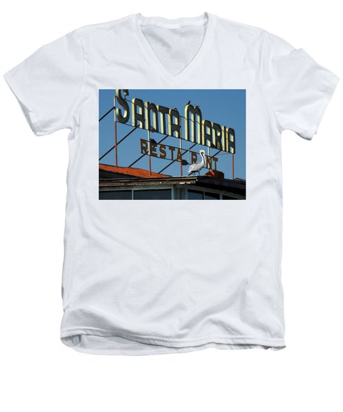 The Santa Maria Men's V-Neck T-Shirt