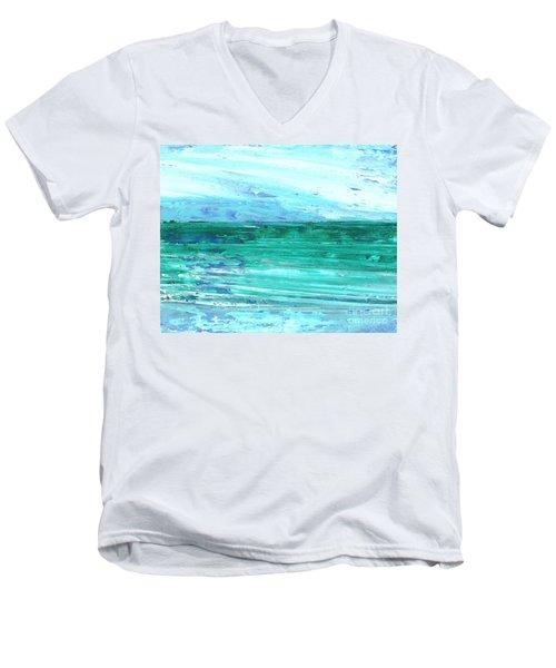 The Sea Men's V-Neck T-Shirt