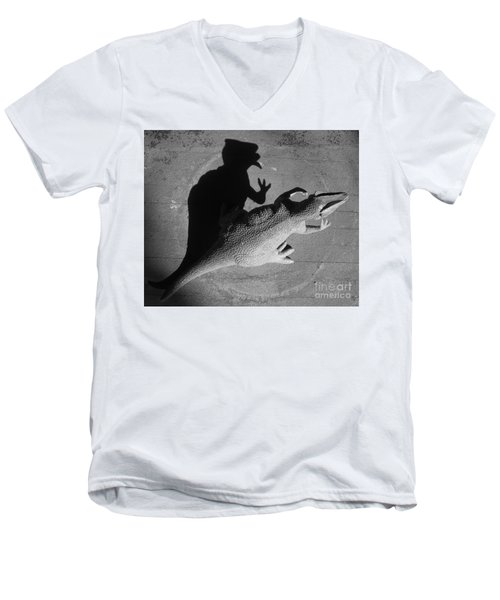 The Shadow Is Mightier Img 2095 Men's V-Neck T-Shirt