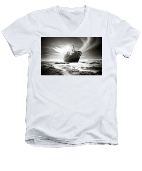 The Shipwreck Men's V-Neck T-Shirt