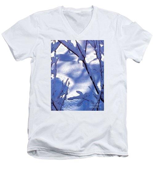 The Single Diamond Men's V-Neck T-Shirt