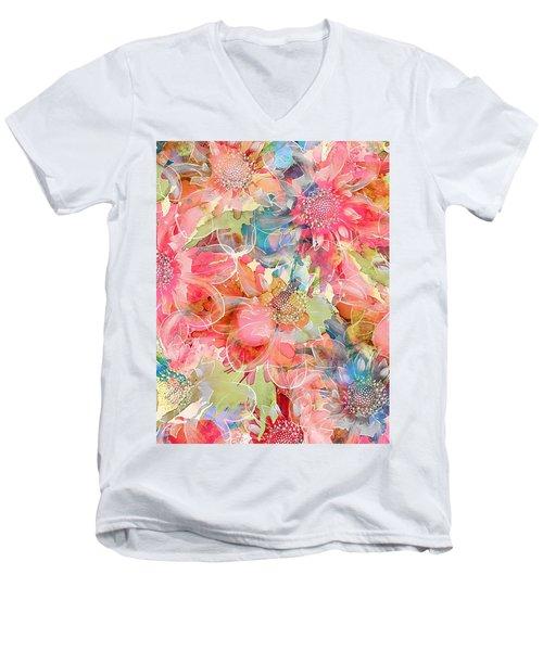 The Smell Of Spring Men's V-Neck T-Shirt