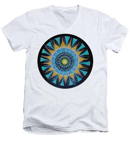 The Soul Mandala Men's V-Neck T-Shirt
