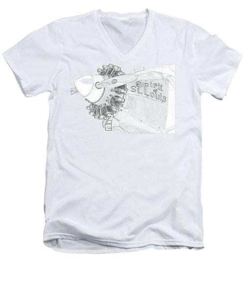 The Spirit Men's V-Neck T-Shirt