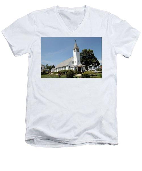 The St Francis De Sales R C Church Men's V-Neck T-Shirt
