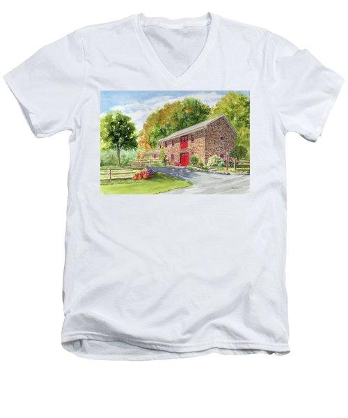 The Stone House Men's V-Neck T-Shirt