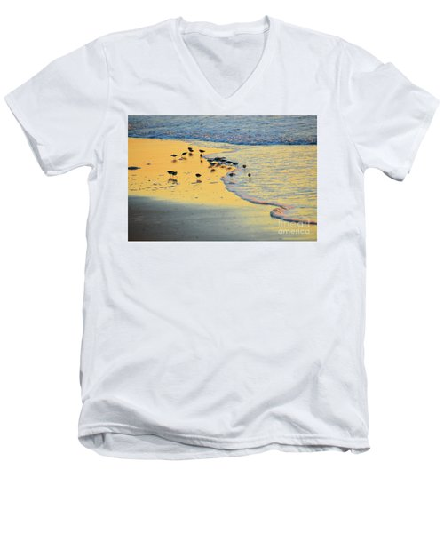 The Sun Is Shining And So Are You Men's V-Neck T-Shirt