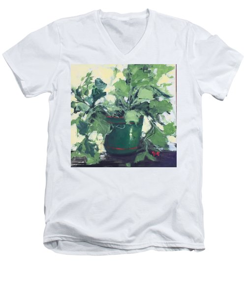 The Sweet Potato Plant Men's V-Neck T-Shirt
